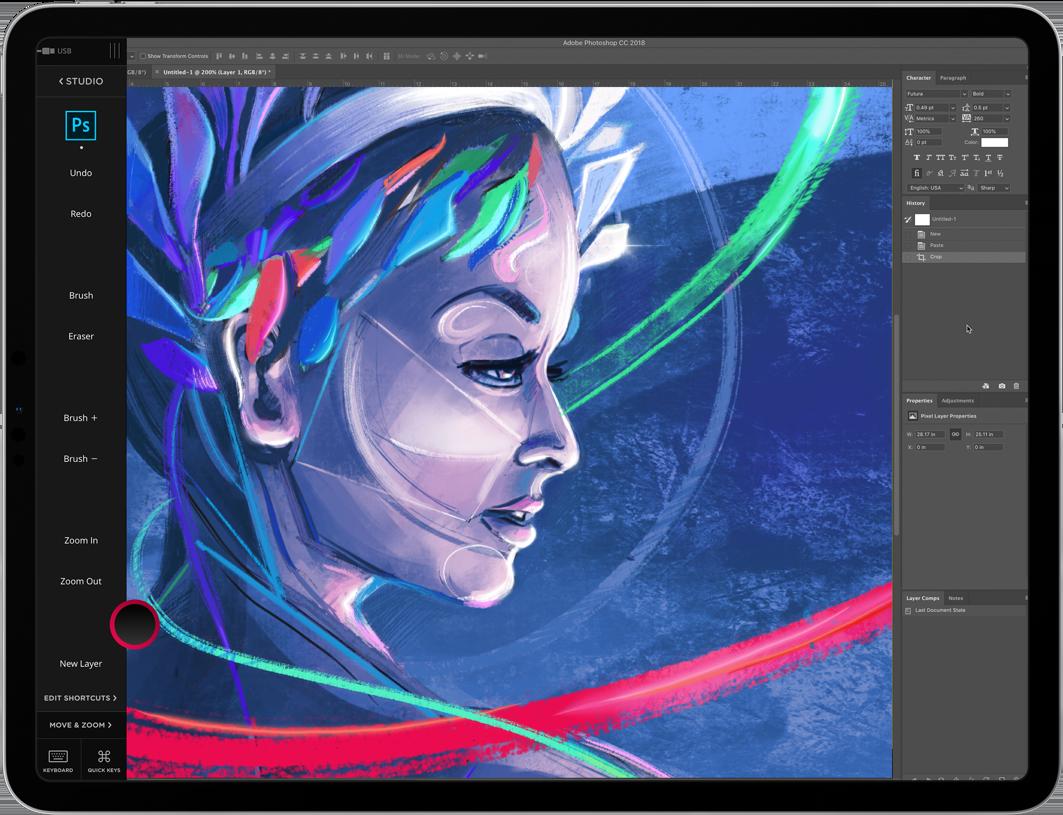 Astropad Studio iPad App