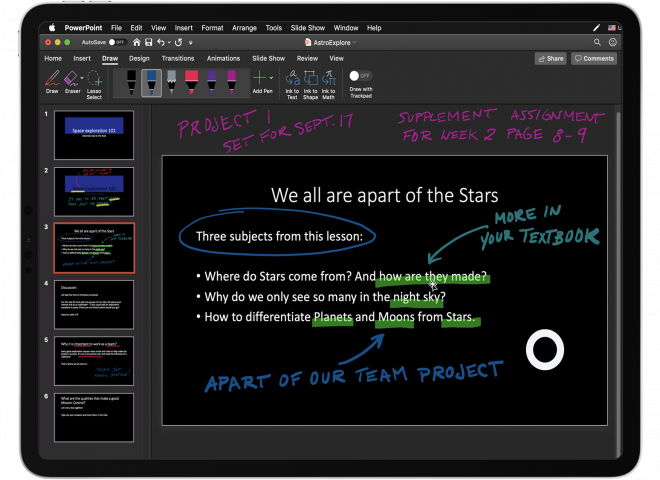 How to Organize a PowerPoint Workspace for Astropad