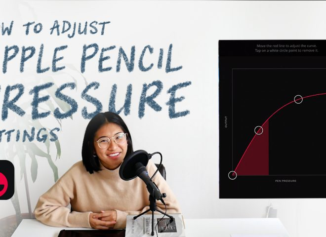 How to Change the Apple Pencil's Pressure Curve for Drawing